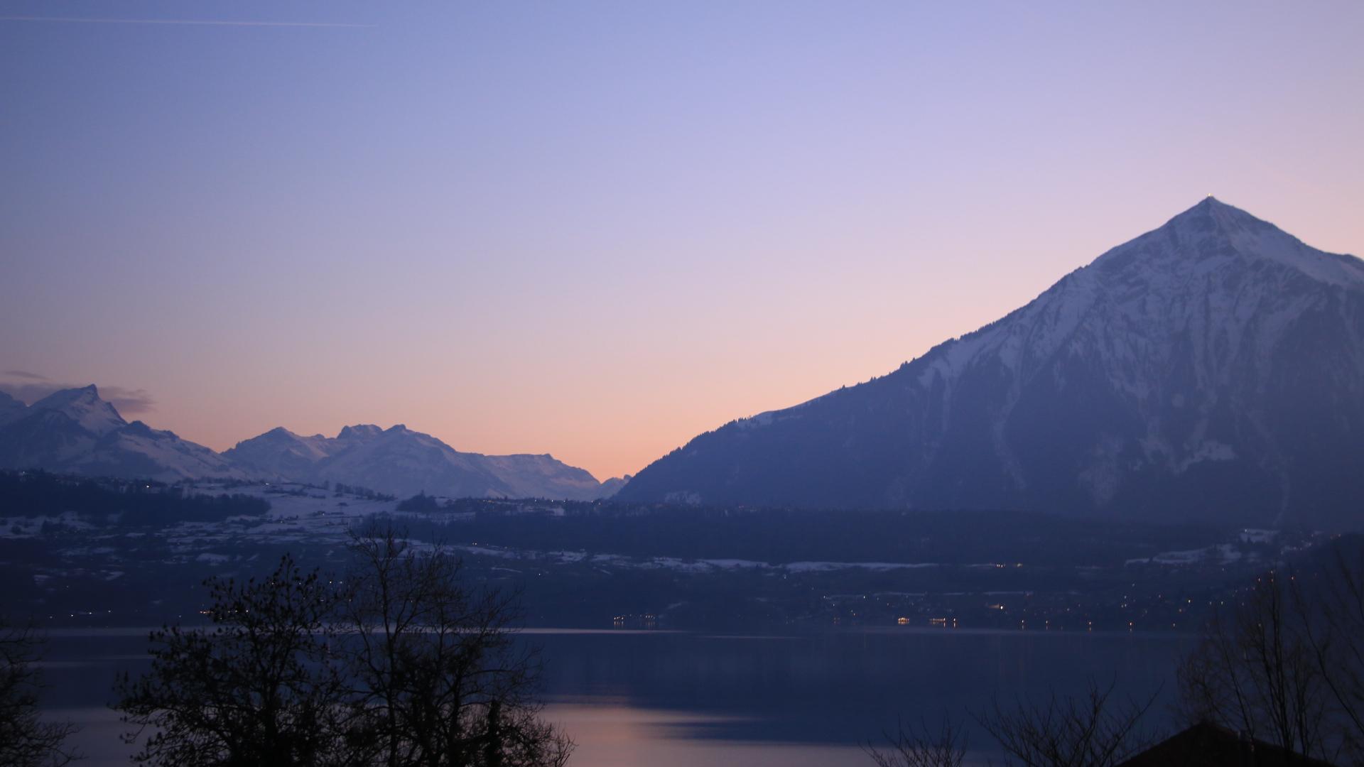 ein weiterer Sonnenuntergang am Niesen